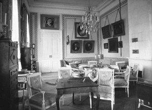 Голубая гостиная во дворце графов Шереметевых на Фонтанке