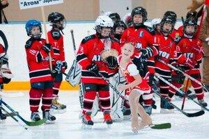 Открытый  зимний турнир по хоккею среди детских команд 2007 г.р. 12-14.02.2016