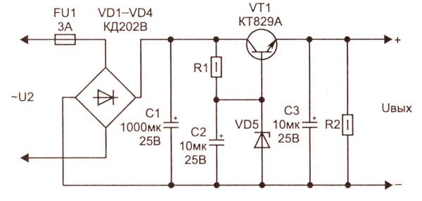 Стабилизатор напряжения на транзисторе 0_1389d5_30cc3a82_orig