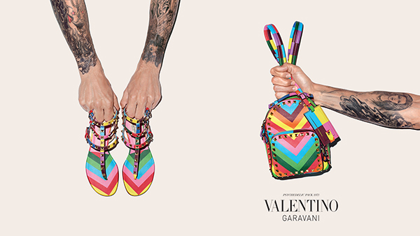 World of Valentino, women's pre-spring accessories campaign