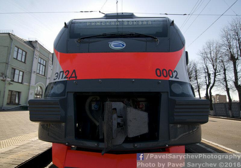 Новый электропоезд ЭП2Д\New suburban train EP2D