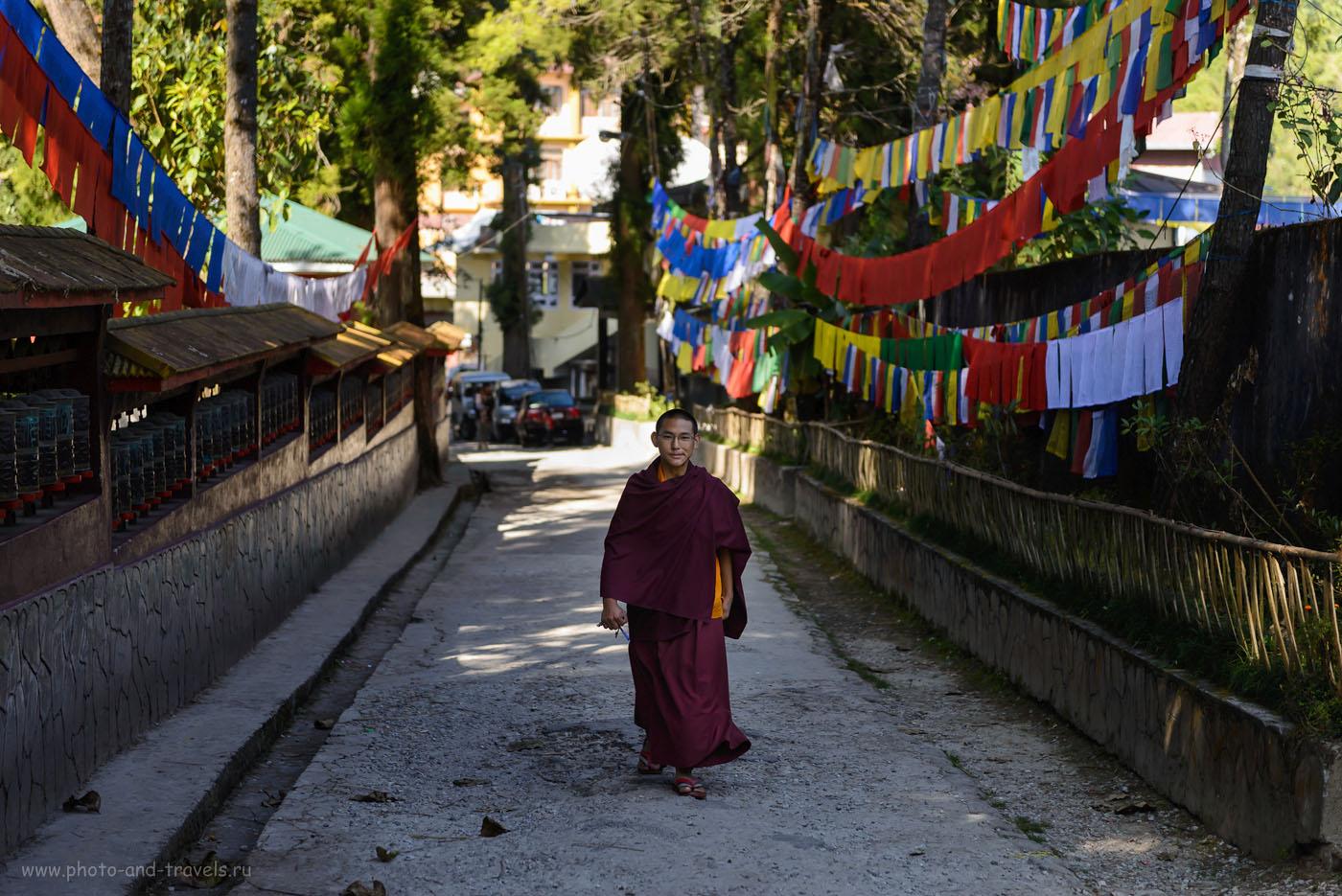 25. Монах в монастыреEnchey Monastery. 2.8, 1/200, 160, 70.
