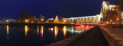 В городе яркие ночи