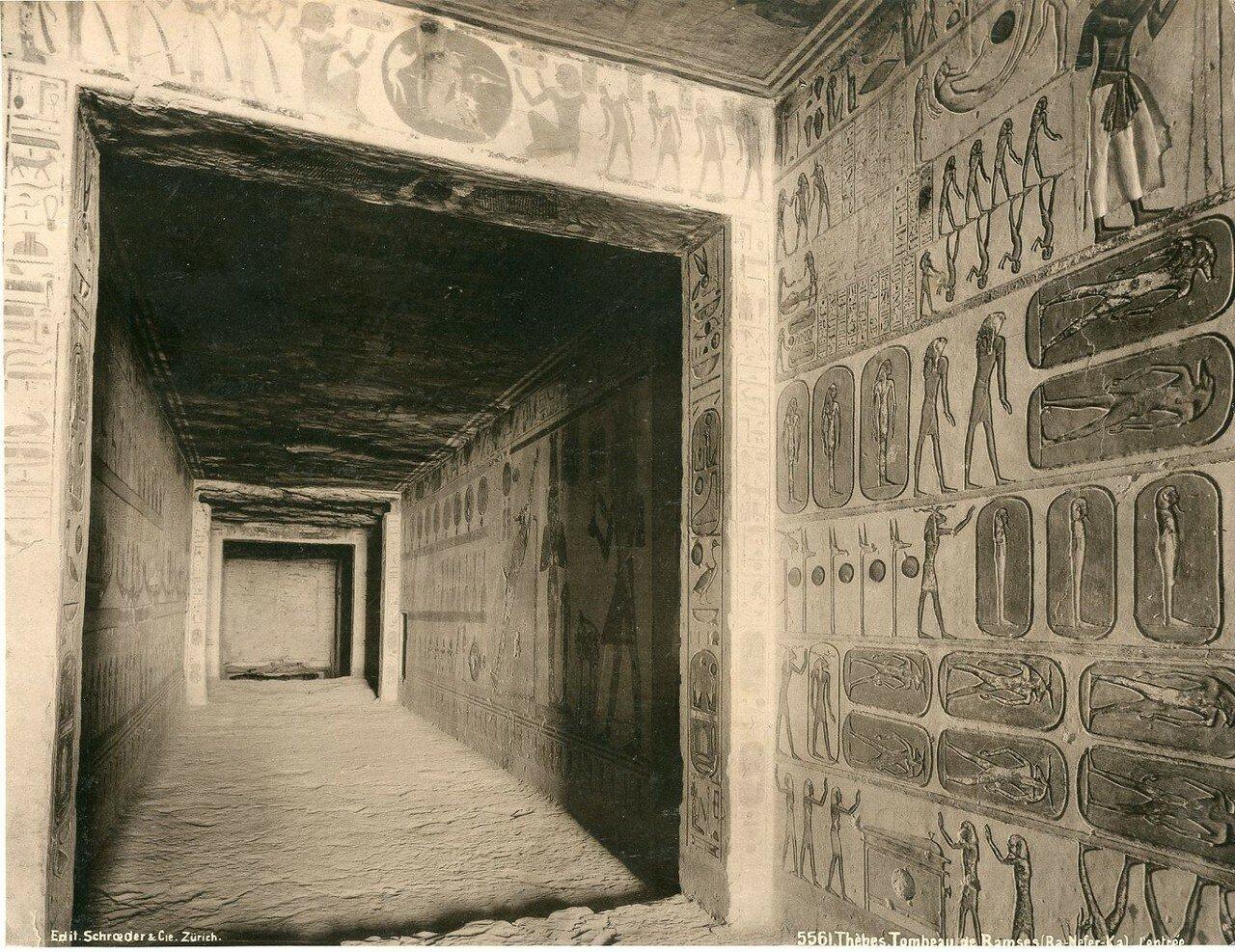 Фивы, Гробница Рамсеса IV. 1900