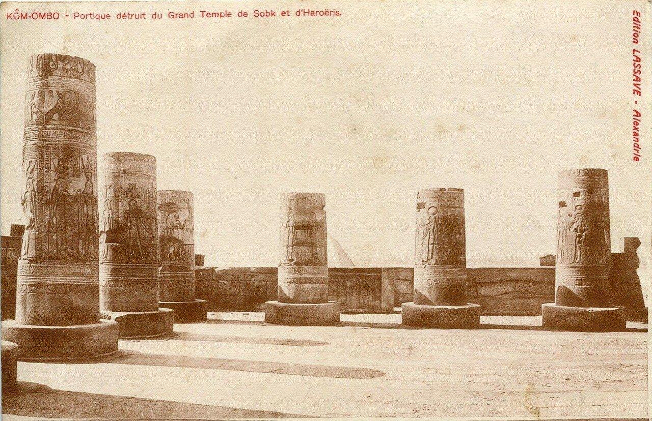 Храм Себека и Гора. 1911