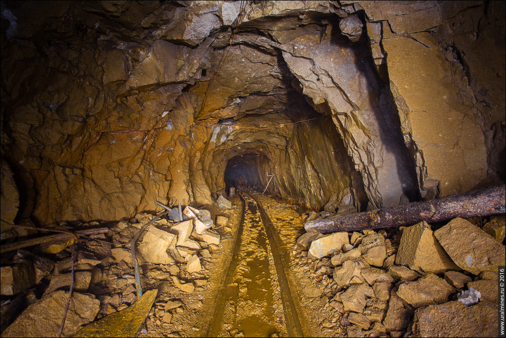 Шахта Южная Березовского рудника