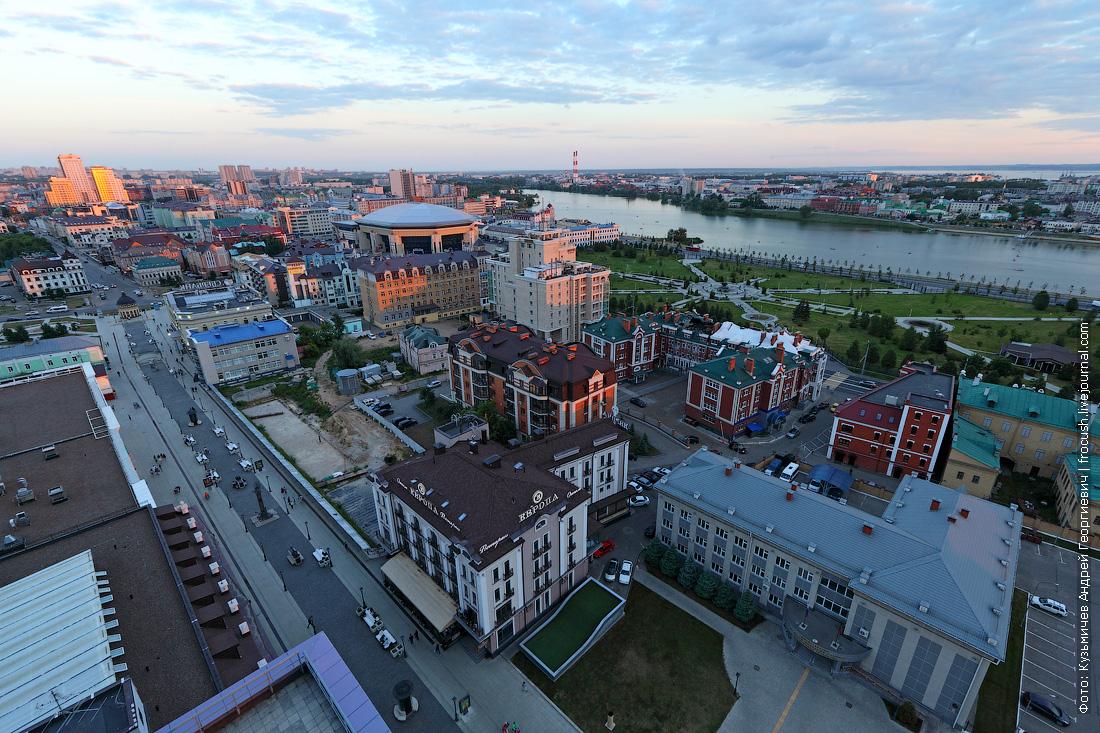 Казань с высоты фото