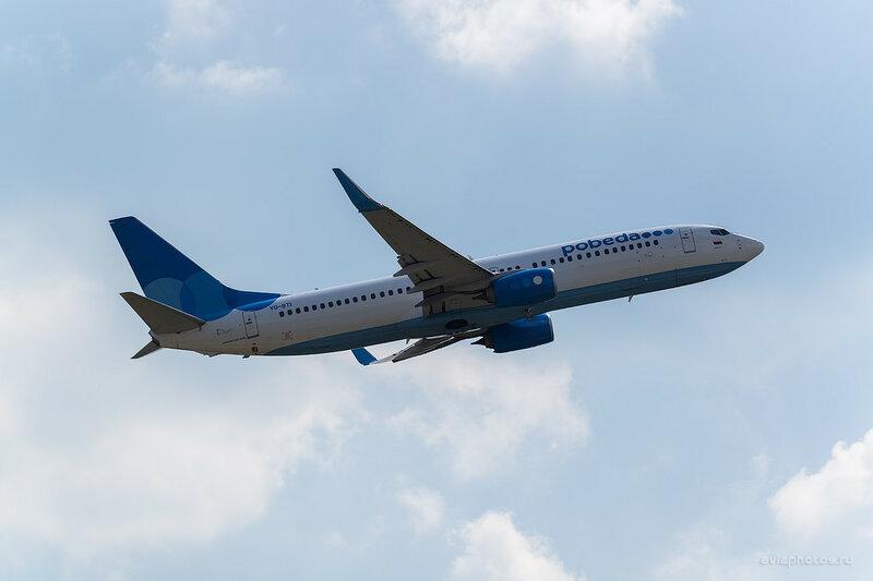 Boeing 737-8LJ (VQ-BTI) Победа 0650_D804552