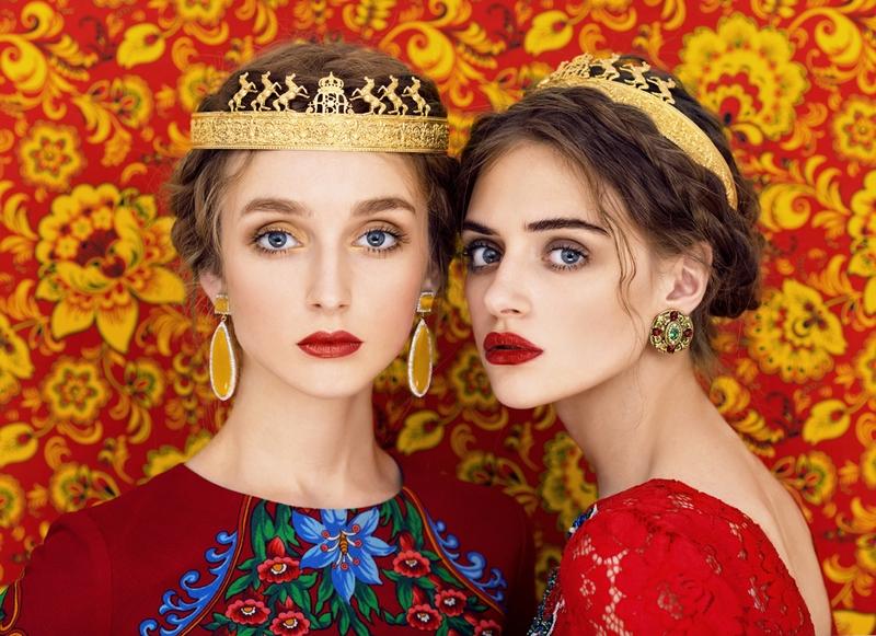 Славянские девушки на ярких портретах российских фотографов