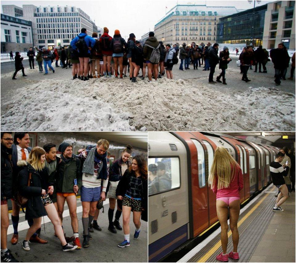 Акция «В метро без штанов 2017»