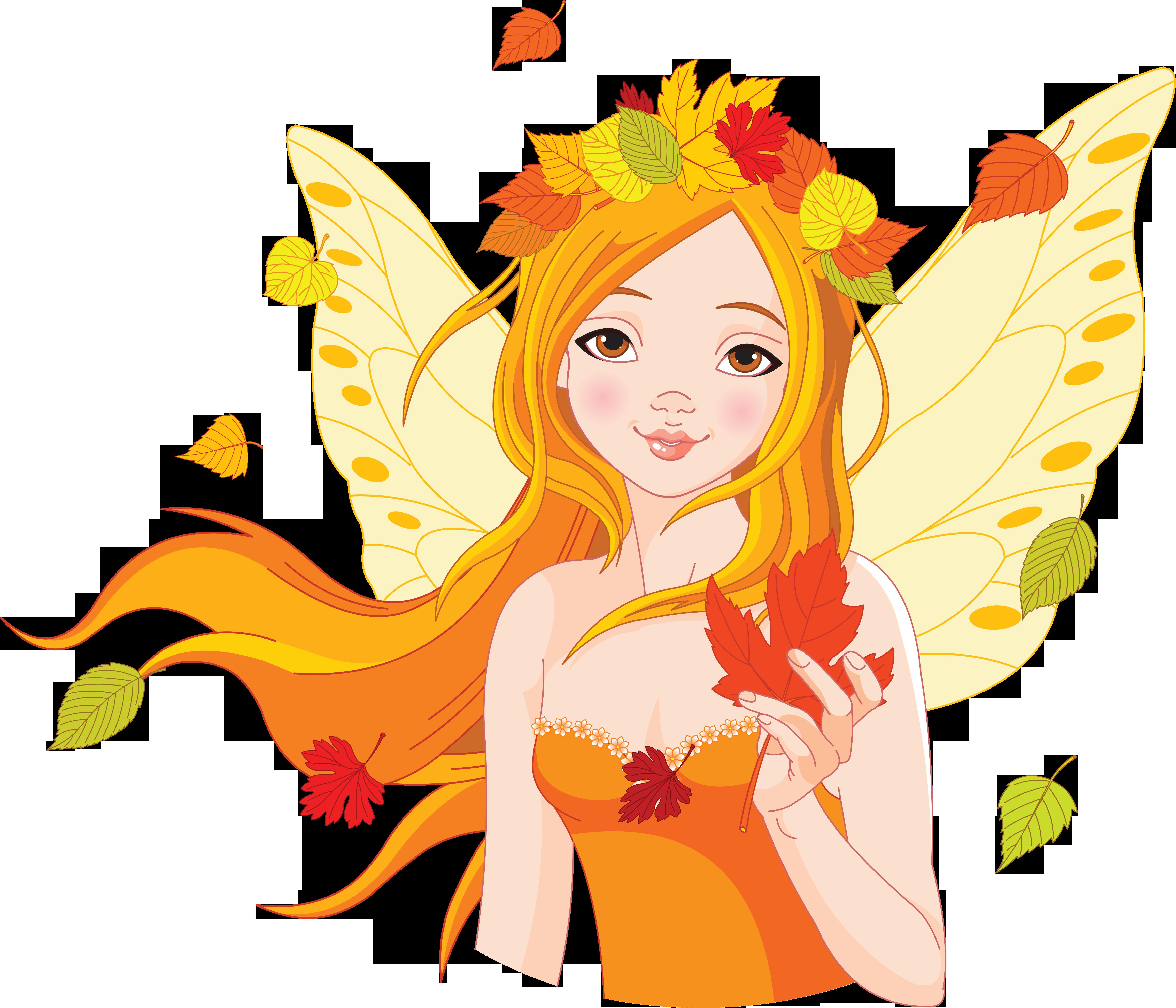 Картинка персонаж осень 6