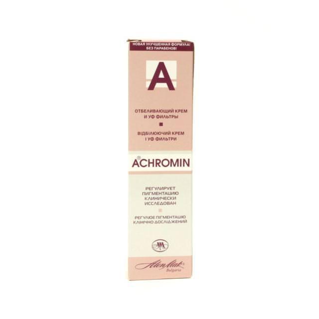 Инструкция по применению ахромин