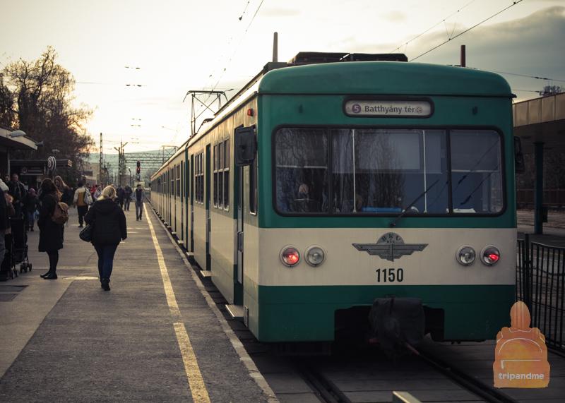 Маршрут Будапешт - Сентендре на поезде