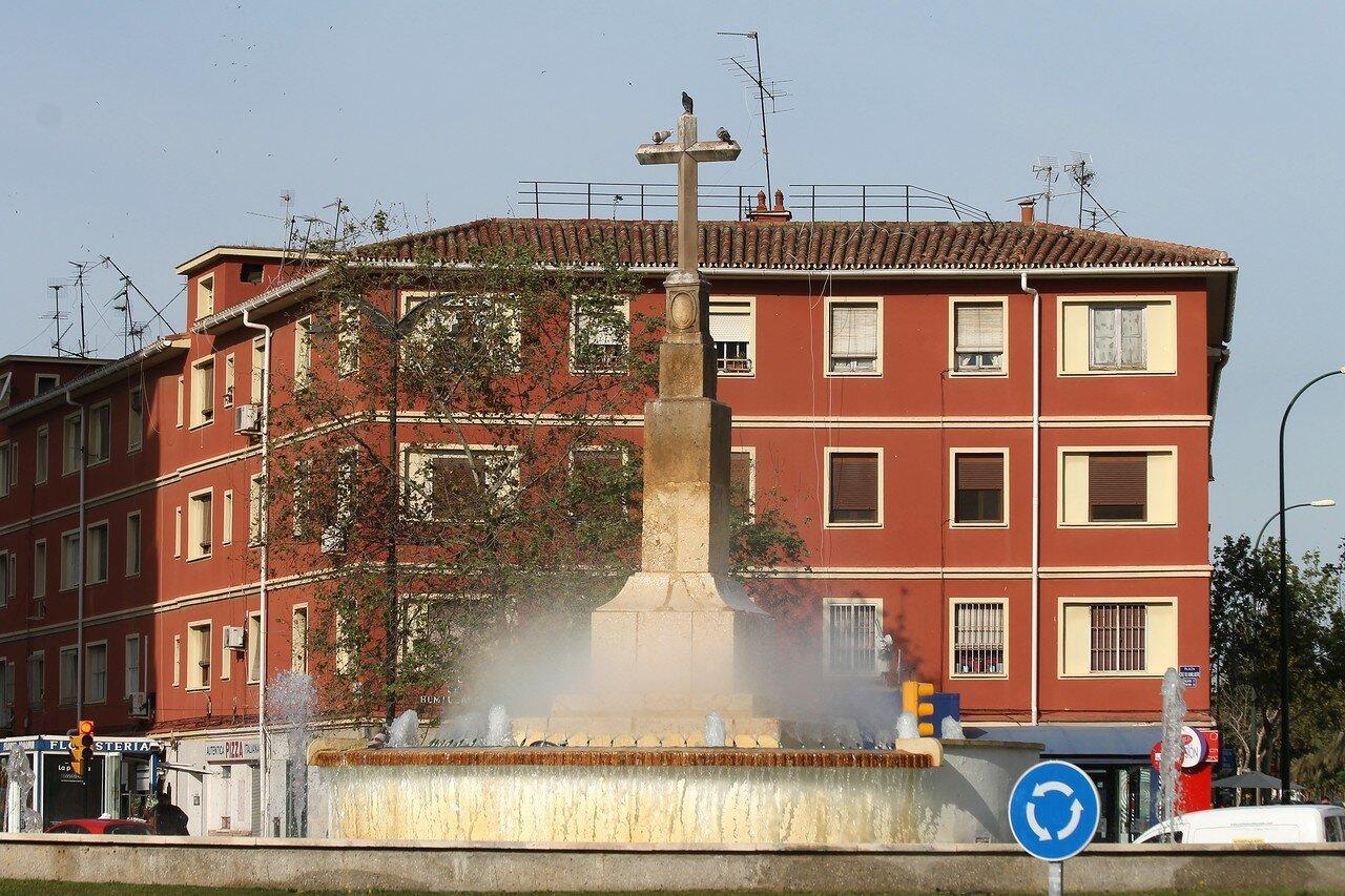Малага. Площадь Крус-де Умильядеро (Plaza Cruz de Humilladero)