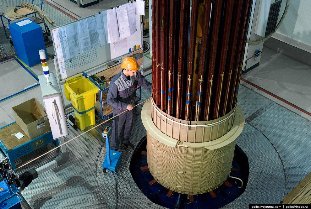 27. После намотки вся конструкция (без сердечника) отправляется в печь термовакуумной обработки