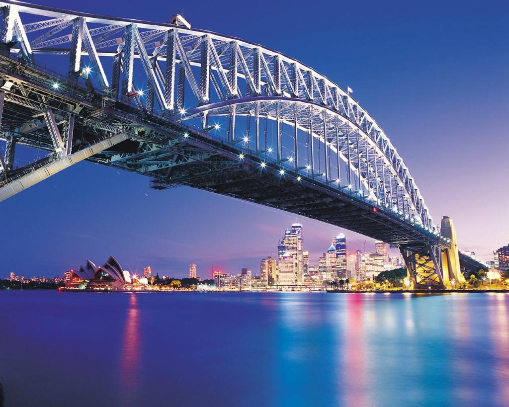 9. Сидней, Австралия Если вы решите прогуляться по этому мосту, у вас будет несколько вариантов. Вы