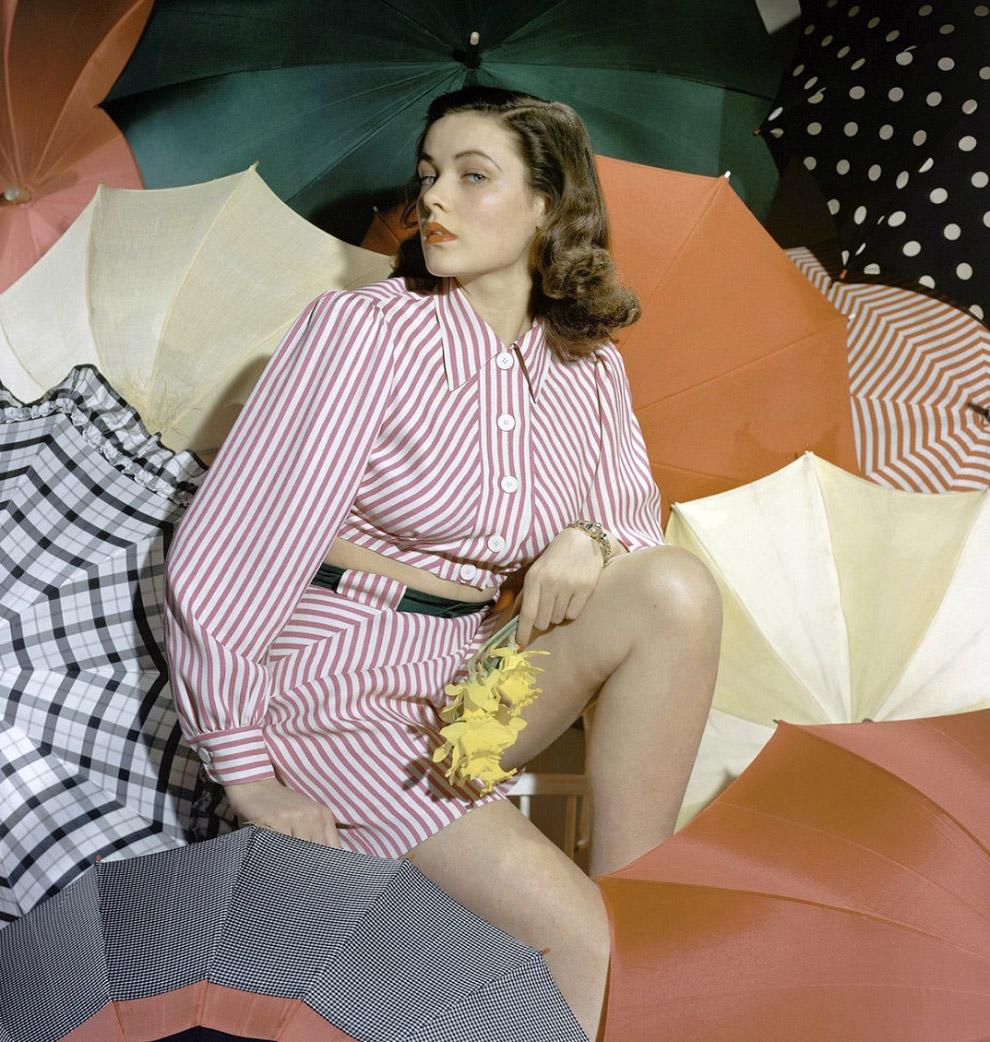 3. Модель в платье невесты. Фото Хорст П. Хорст, 1941 год.