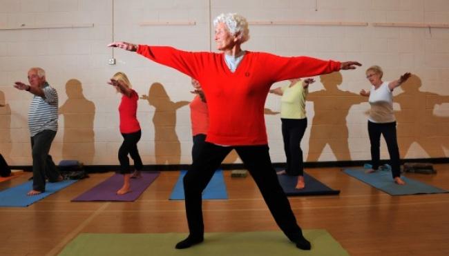 © letstalk24  «Мои мышцы пока неболят. Возможно, это произойдет, когда ястану старой. Нохот