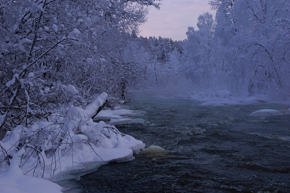 8. Я бываю в Карелии в основном летом и осенью, зимой был один раз, а в предыдущие годы старали