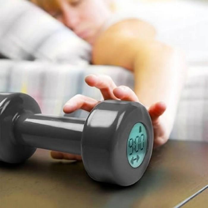 Будильник-гантеля Ticklish Alarm Clock Будильник-гантеля. Принцип работы очевиден. После того, как б