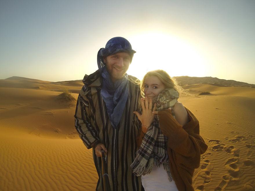 28 Наконец, мы обручились в пустыне Сахара