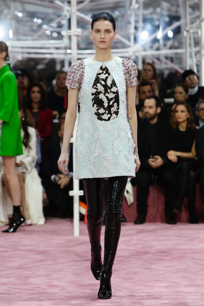 Dior haute couture весна-лето 2015