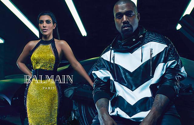 Но на этот раз фотограф Марио Сорренти создал классическую фотосессию, где Ким и Канье не делают нич