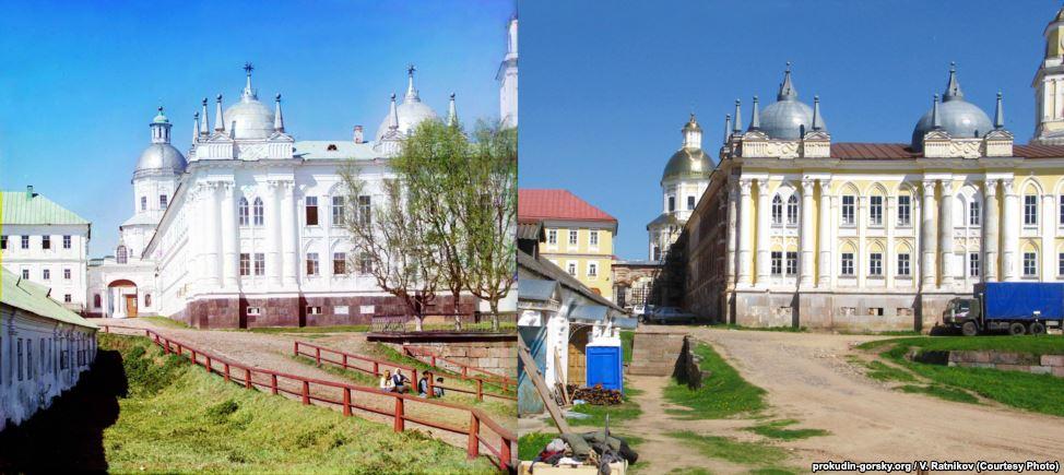 Нилов монастырь, Тверь, 1910/2010. Фото: В. Ратников.