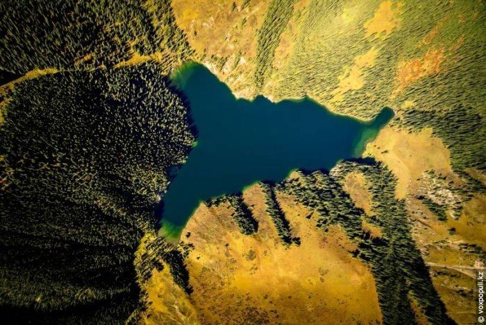 Красоты Казахстана с высоты птичьего полета