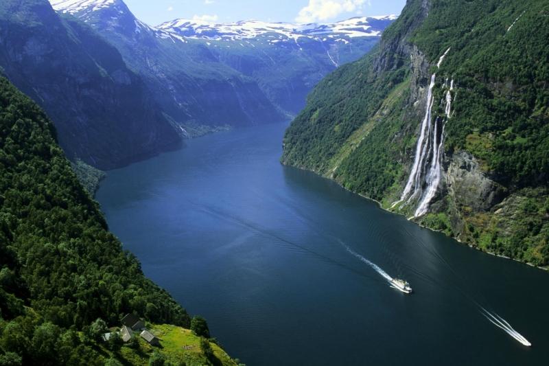 Достопримечательности Норвегии: Гейрангерфьорд