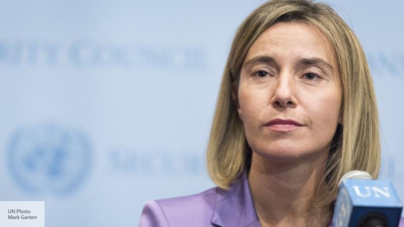 Могерини сообщила, что неуверена врешимости США сохранять антироссийские санкции