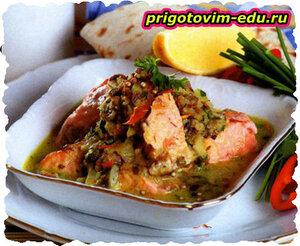 Рыба в грузинском соусе