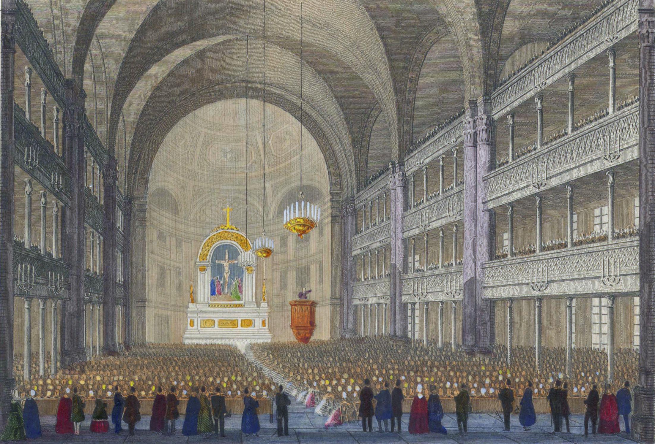 27. Внутренний вид лютеранской церкви