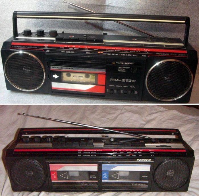 Популярные магнитолы 80-х