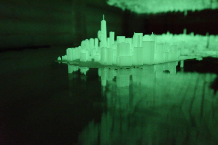 3D-Printed Illuminated New York City Desk