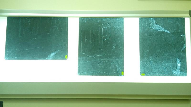 Рентгенограммы картины