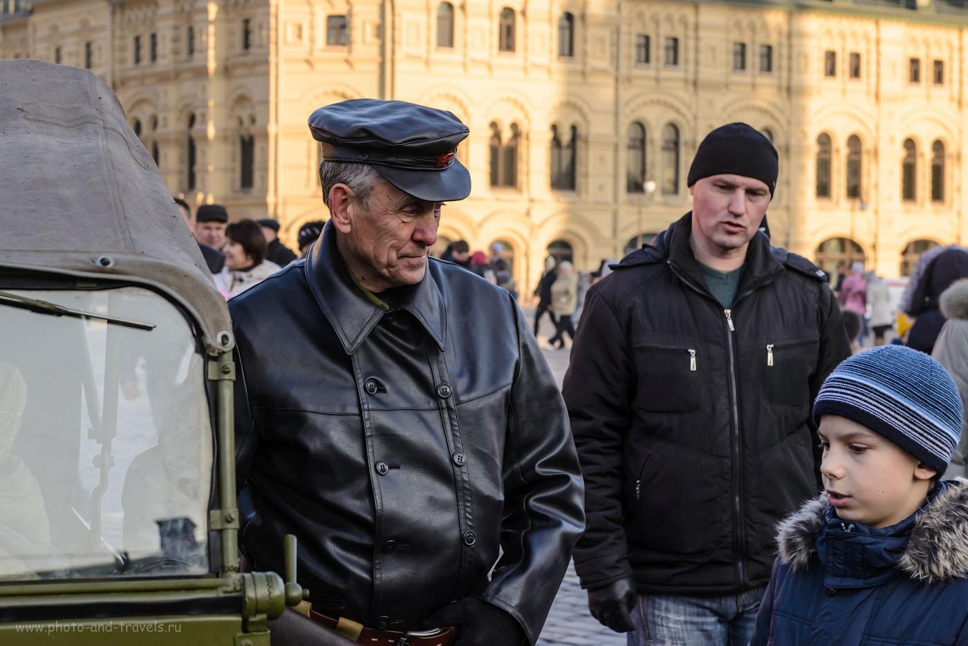 28. Участник костюмированного шествия на Красной площади. 1/400, -0.67, 8.0, 640, 70.
