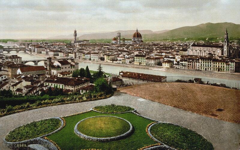 Флоренция, конец XIX века