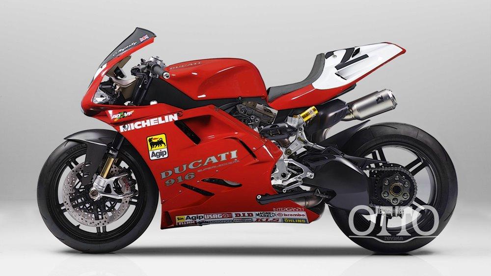 OTTO Revista: концепт Ducati 916 Superleggera