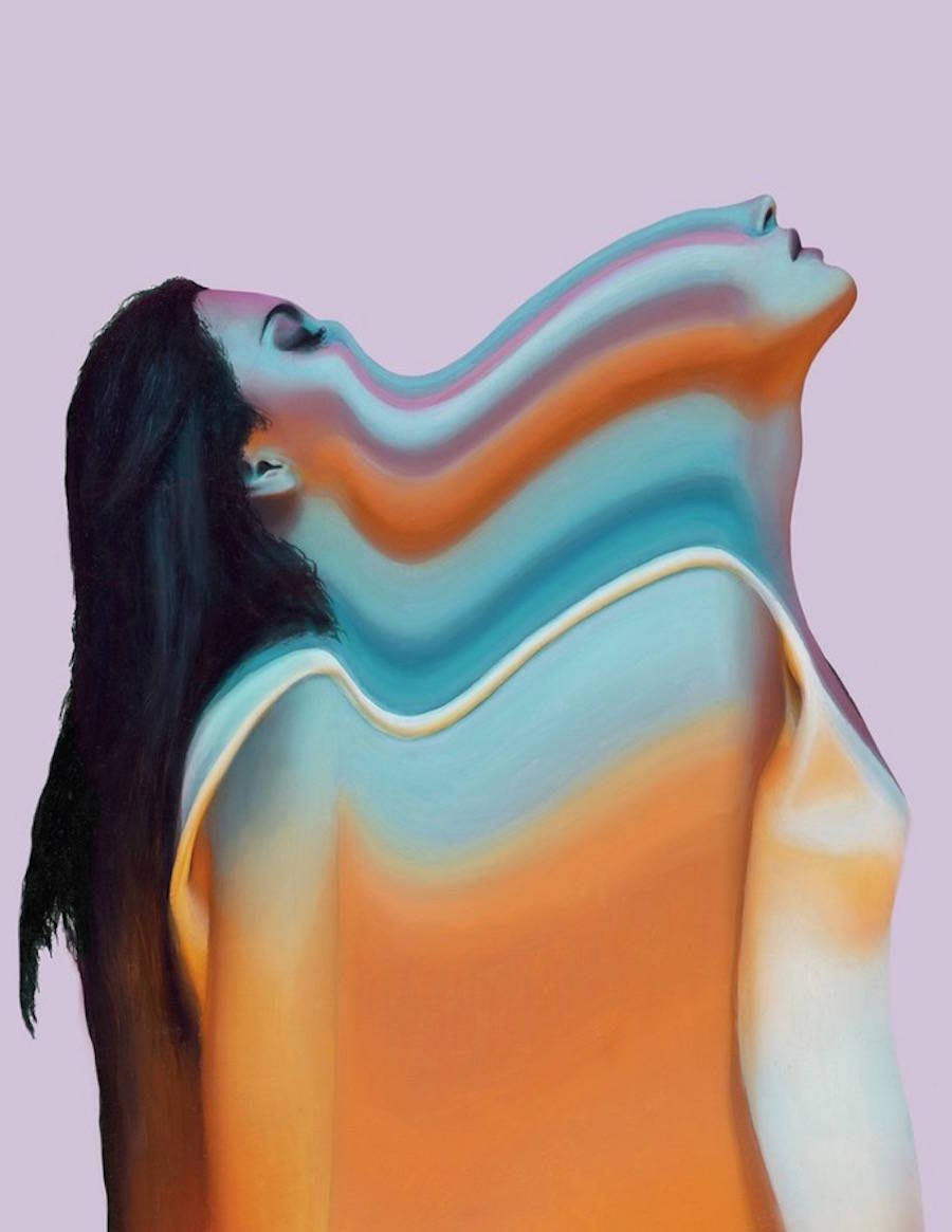 Colorful Glitch Portraits by Joshua Davidson