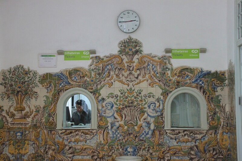 Вокзал в Синтре, Португалия (Train station in Sintra, Portugal)