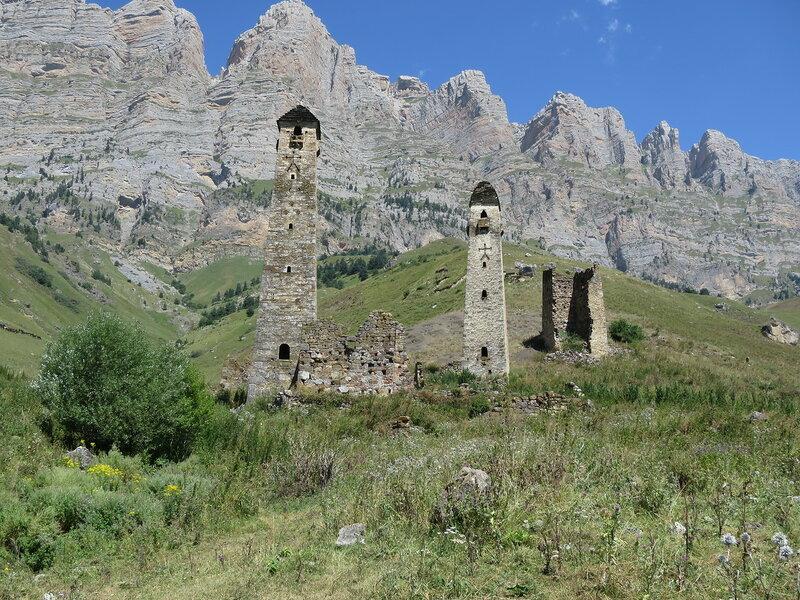Боевые башни селения Ний