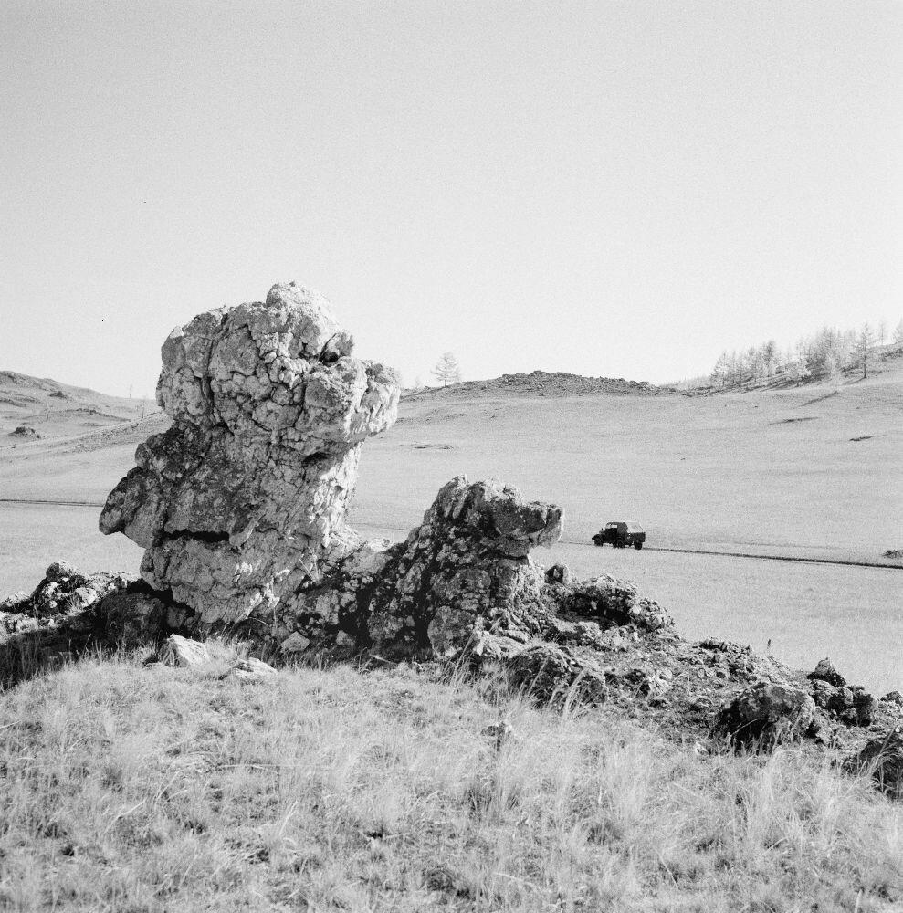 Пейзаж между Еланцами и озером Байкал