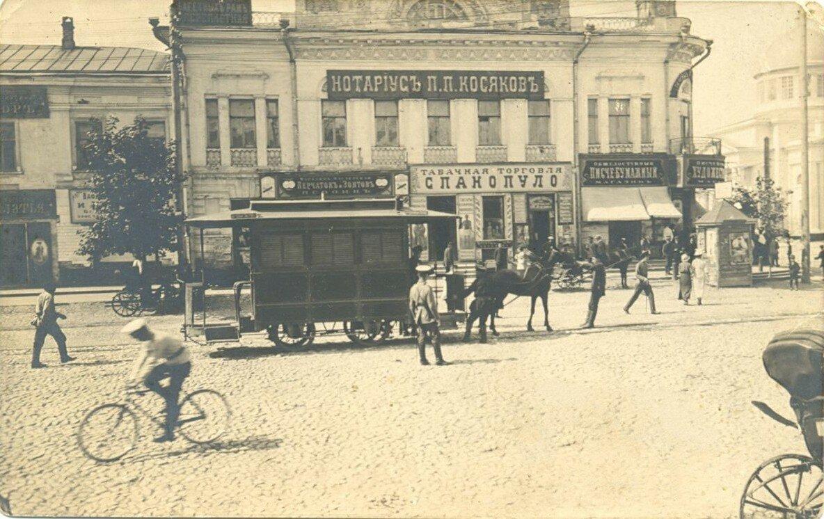 Киевская улица. Пьяный угол