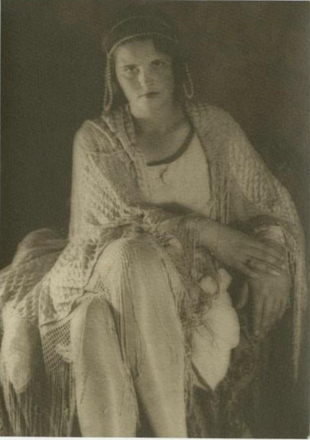 Портрет Зины Кальменковой