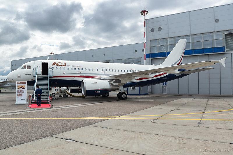 Airbus A319-115(CJ) (OE-LJG) MJet D807539