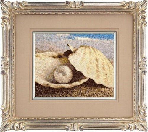 Картина из жемчуга