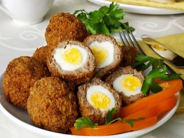 Яйца по шотландски фото