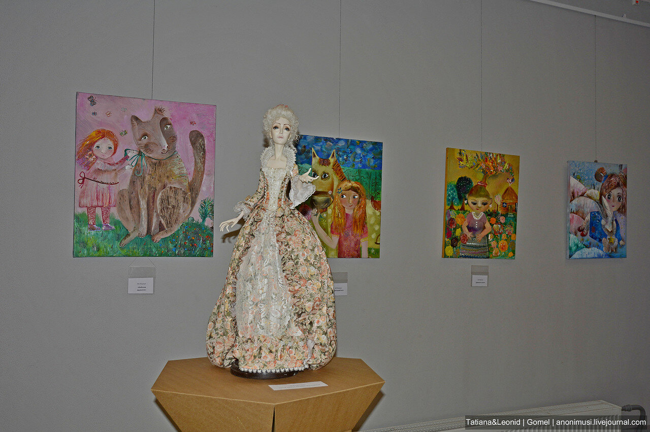 Выставка авторской куклы Панна Doll'я