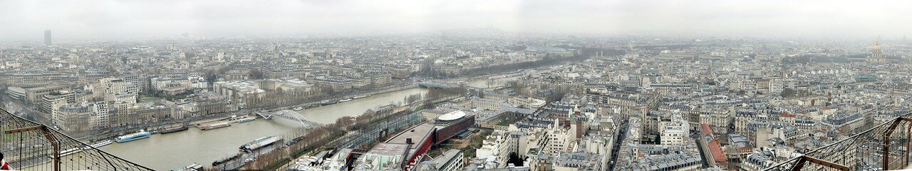 Paris. View from Eiffel tower